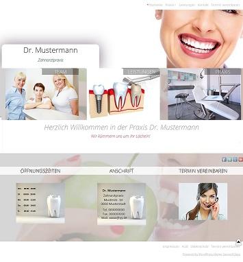 L-Net Webseiten-beispiel-zahnarzt